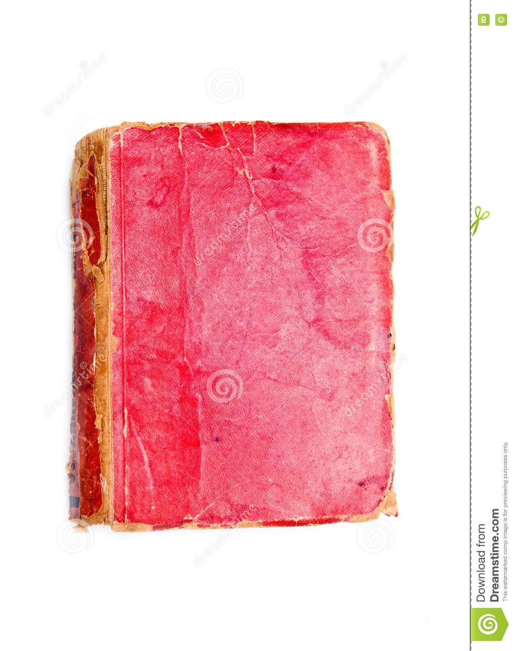 Book Cover Watercolor Red : Red book cover stock image