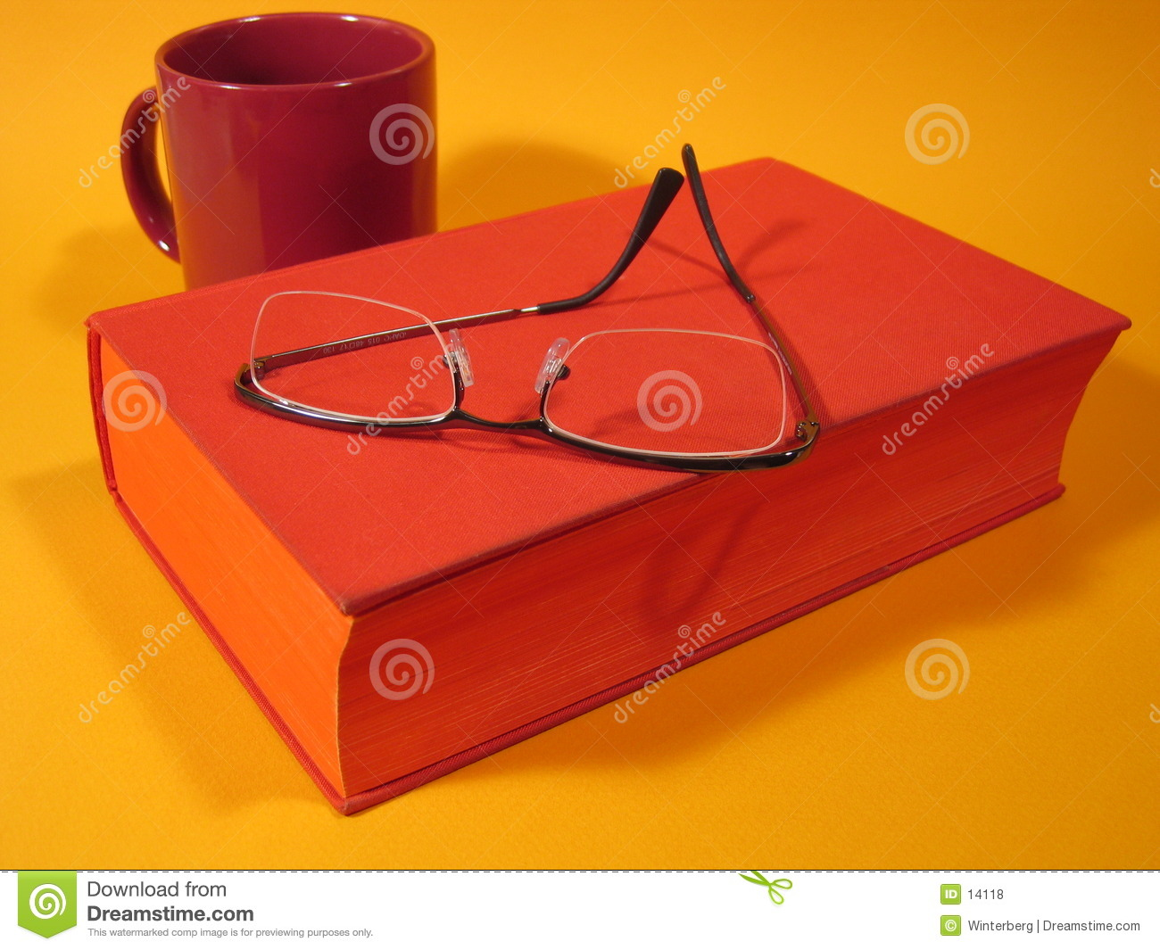 Red Book And Glasses III