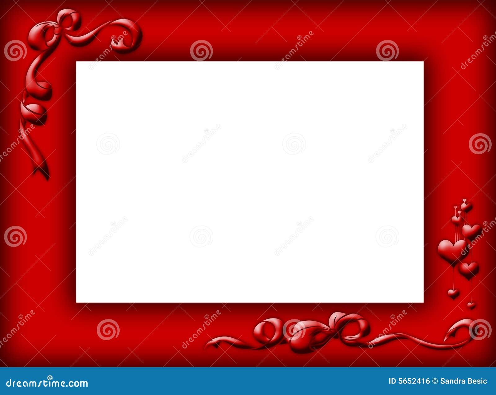 Red Border Royalty Free Stock Image - Image: 5652416