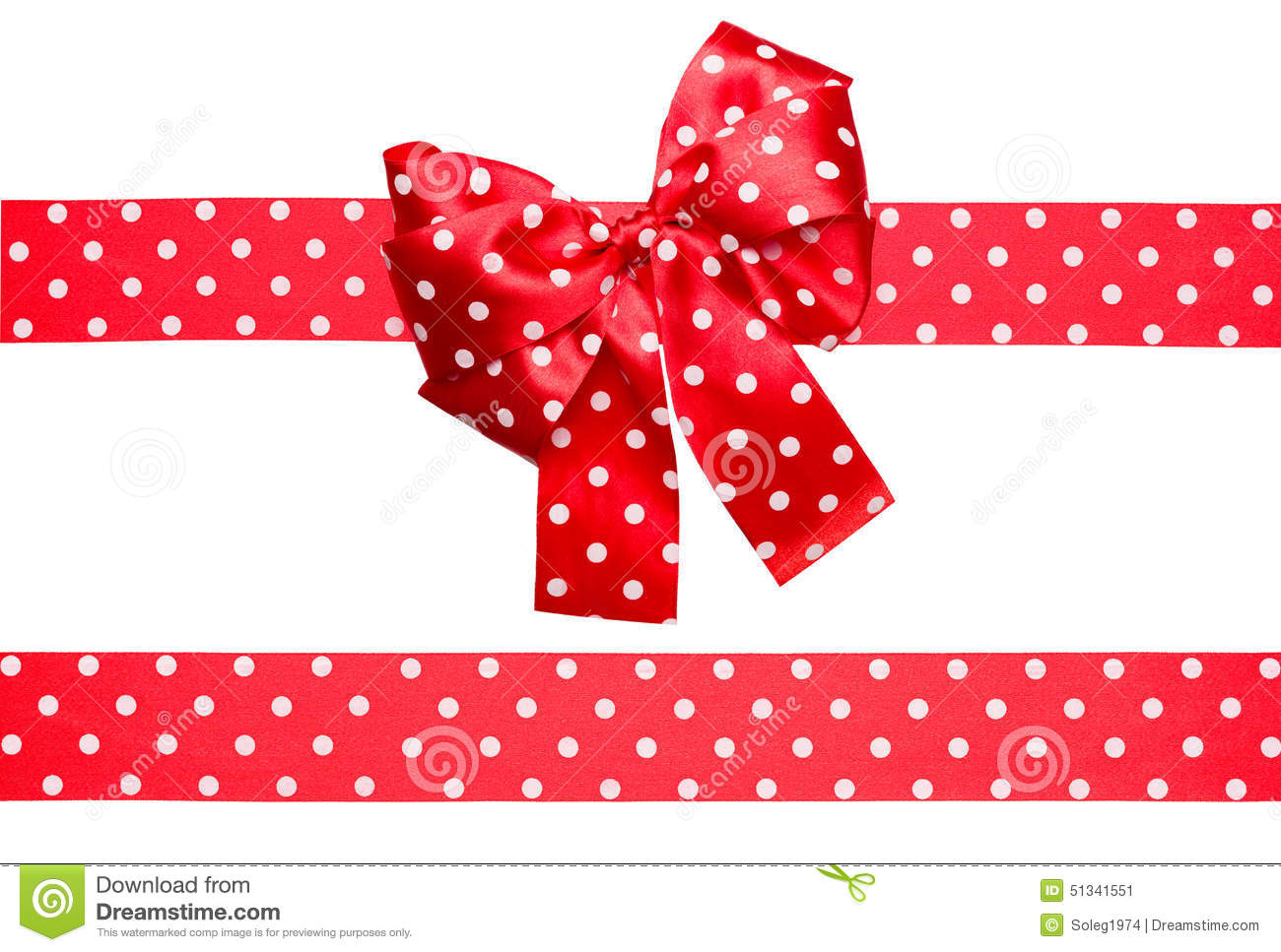 dotted red ribbon and - photo #23