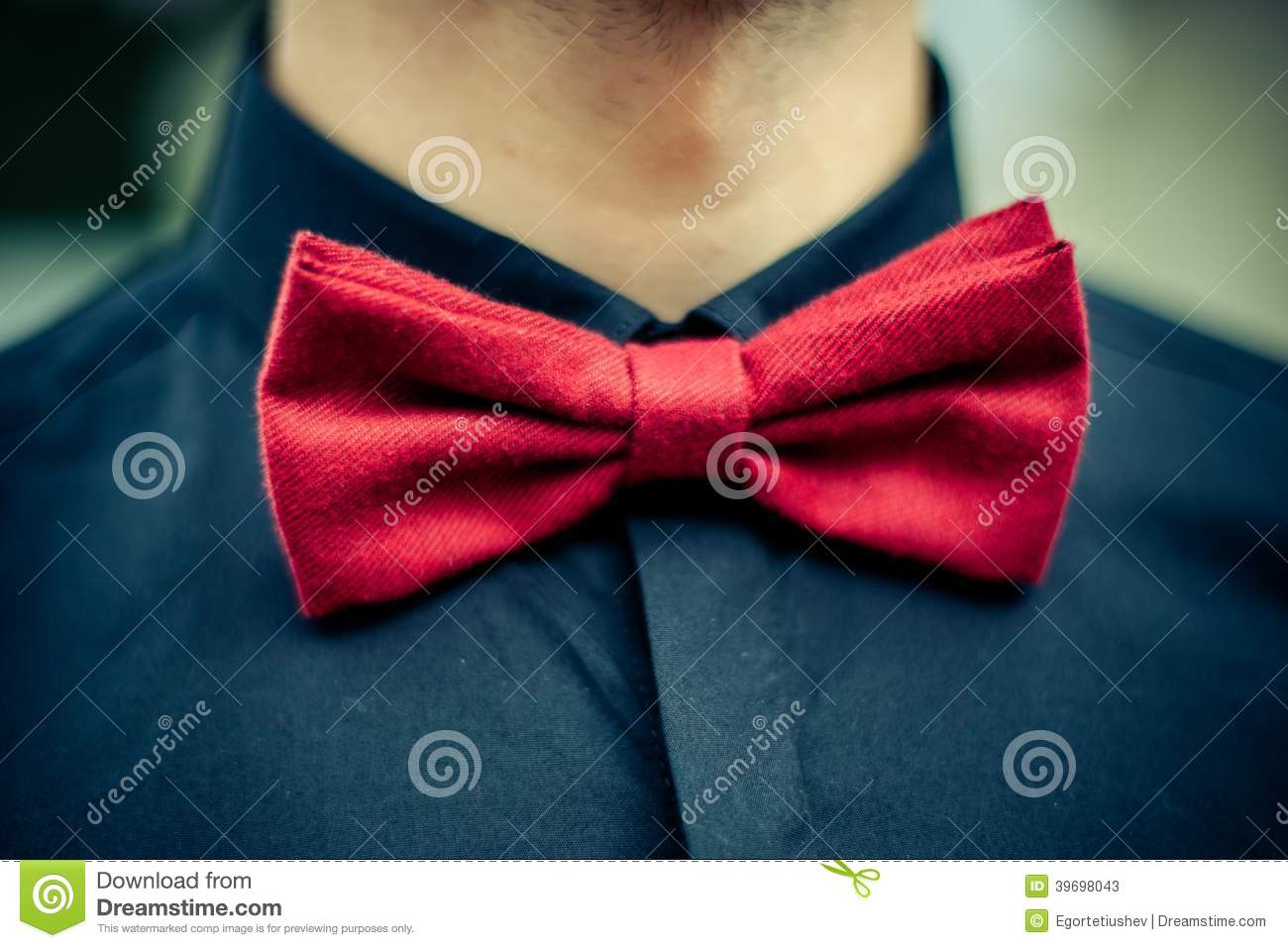 cc1d2f7b Groomsman in the dark blue shirt and red bow tie. More similar stock images