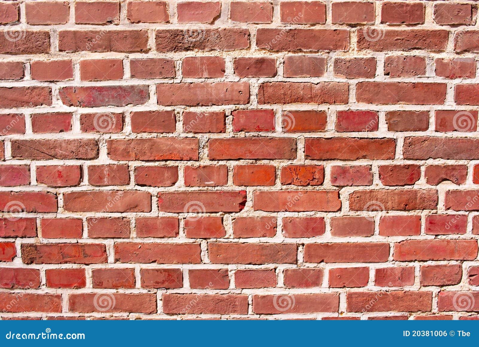 Red brick background royalty free stock image image - Papier peint imitation brique relief ...