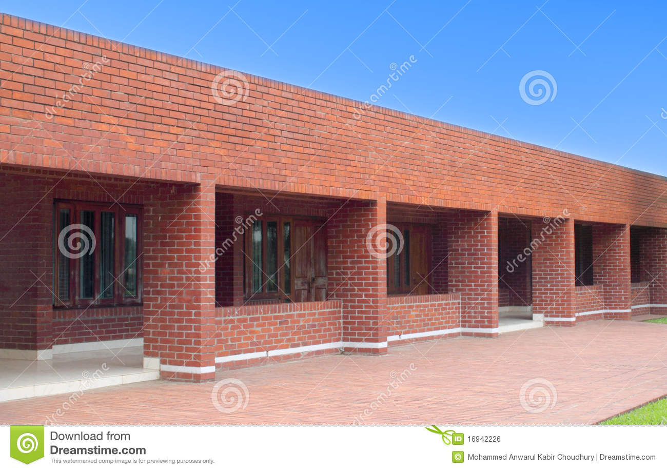 Red Brick Building Royalty Free Stock Image - Image: 16942226