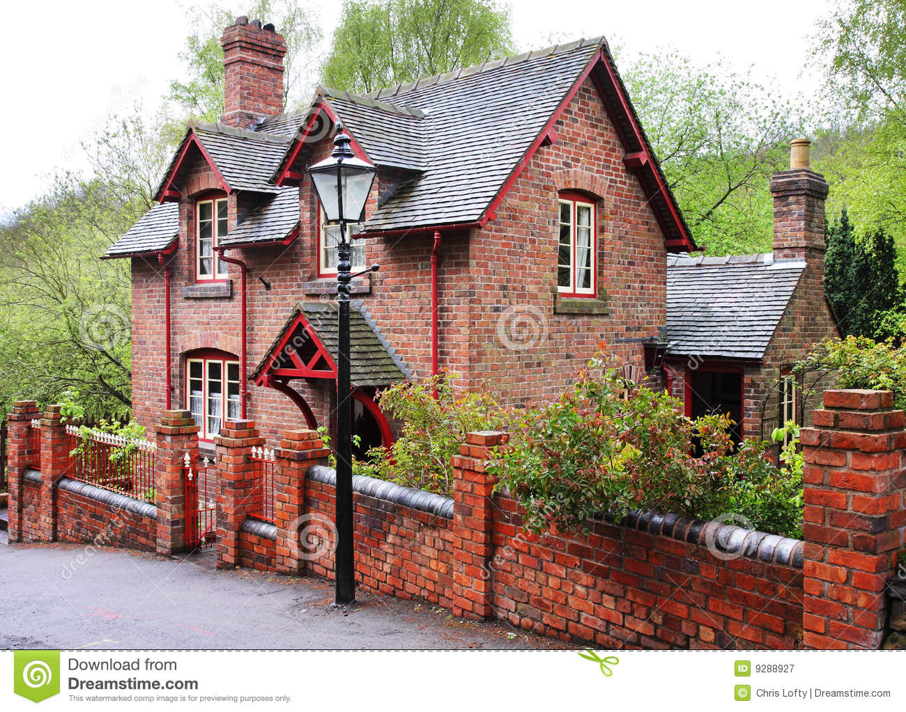 Red Brick English Village House Stock Photos 261 Images