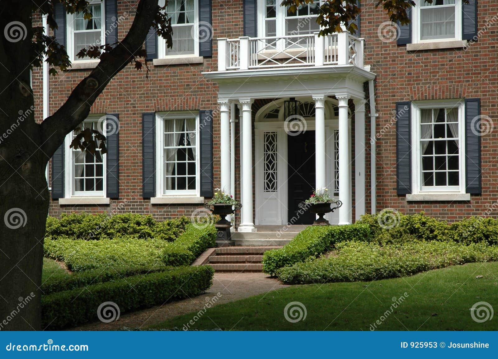 Red Brick House Stock Image Image Of Season Architecture 925953