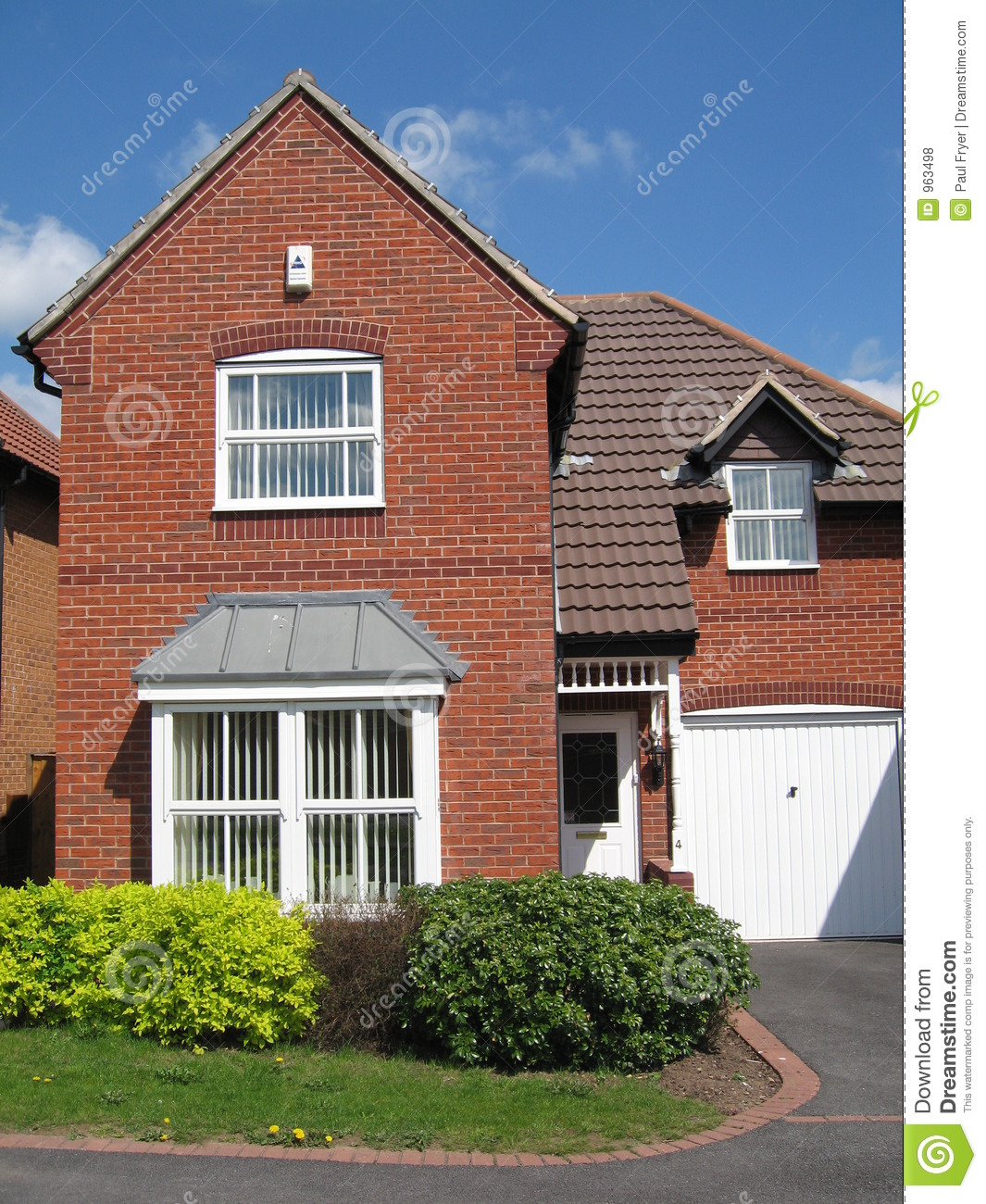 Red brick house uk royalty free stock photos image 963498 House photos gallery