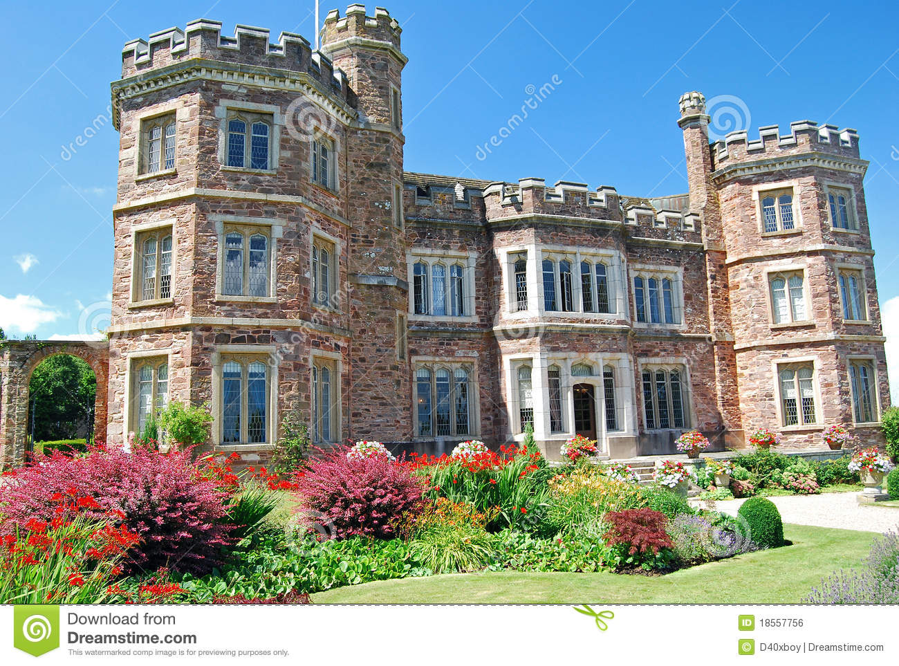 Red Brick Manor House Stock Photo Image Of Home Elegance 18557756