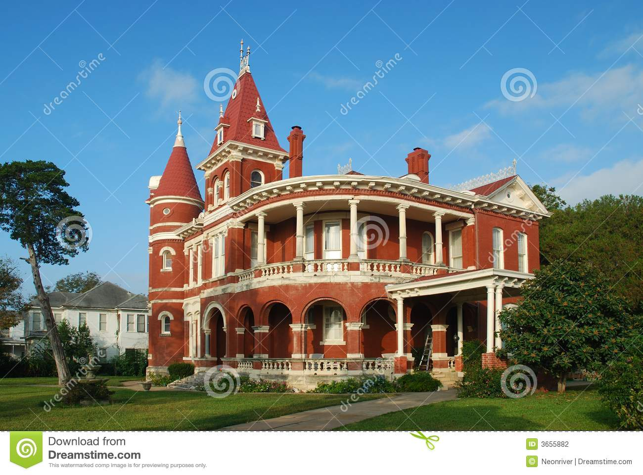 red brick queen anne home stock photography image 3655882 anne home queen