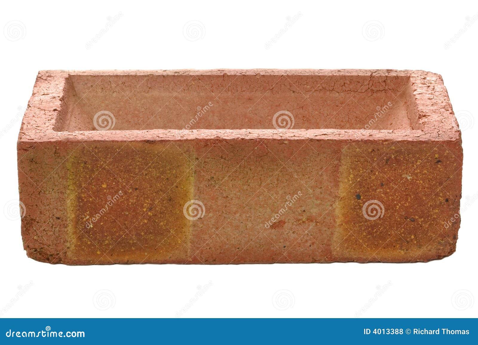Red brick side