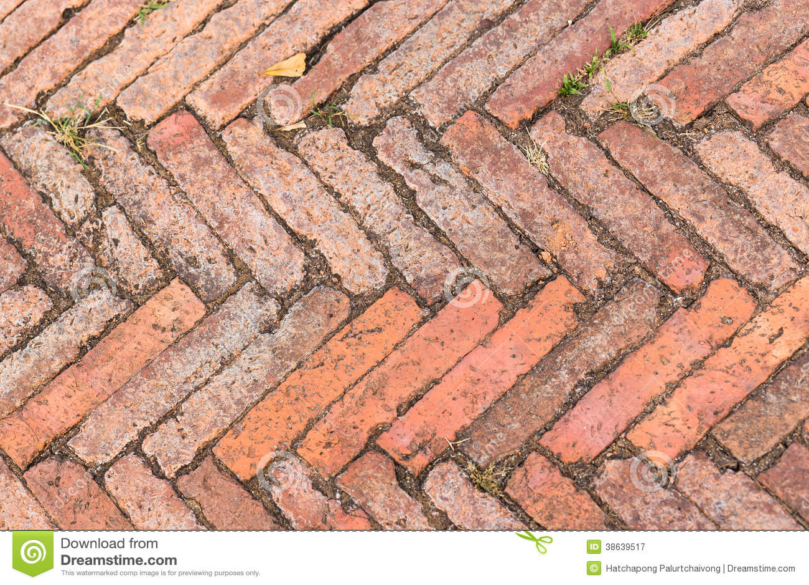 Z Brick Flooring : Red brick texture background stock image