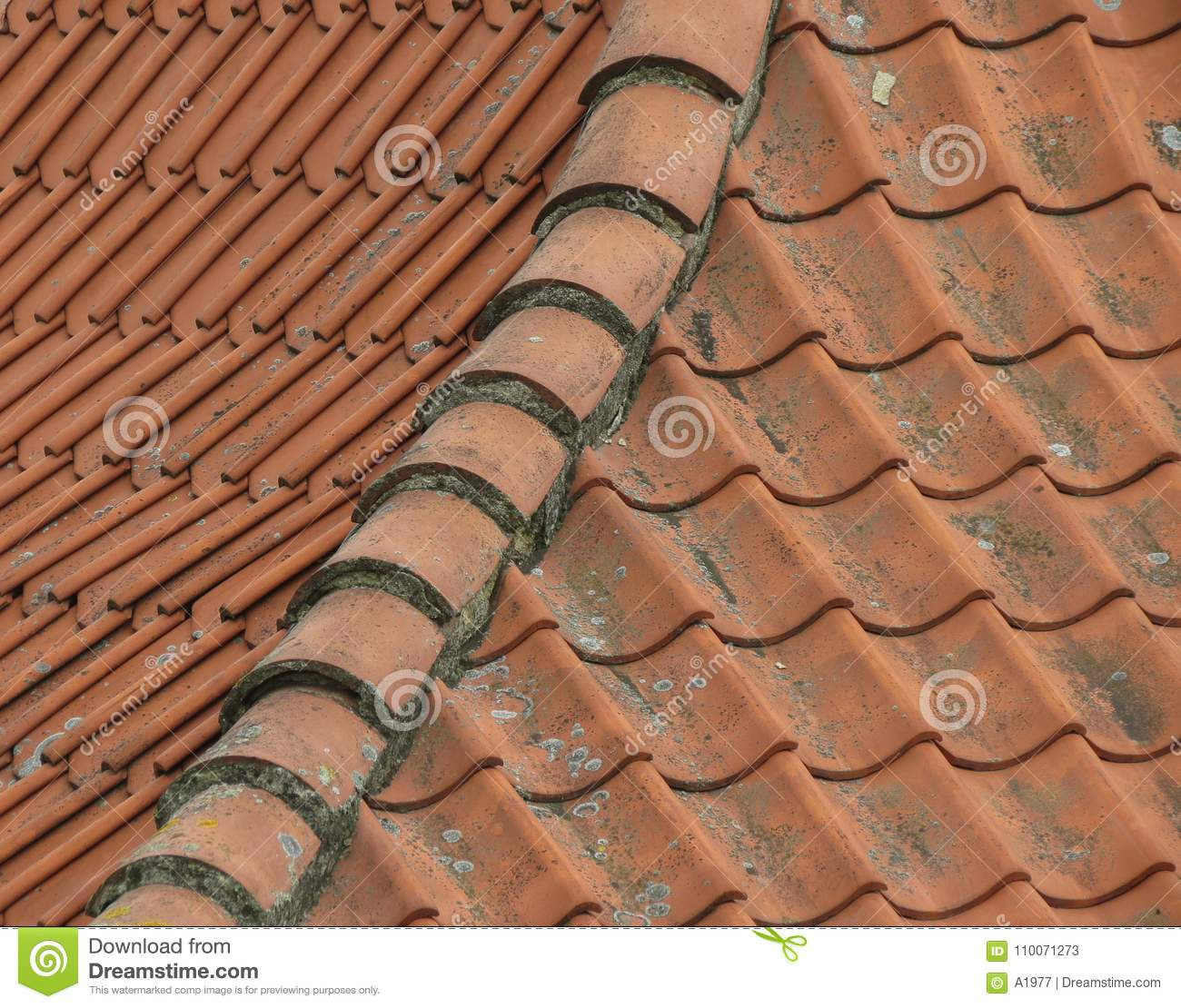 Brick Roof Texture red brick tile roof texture background stock image - image of tile