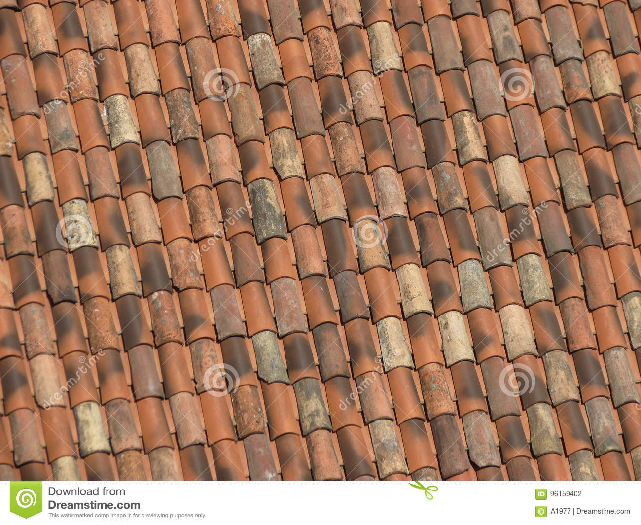 Brick Roof Texture red brick tile roof texture background stock photo - image of