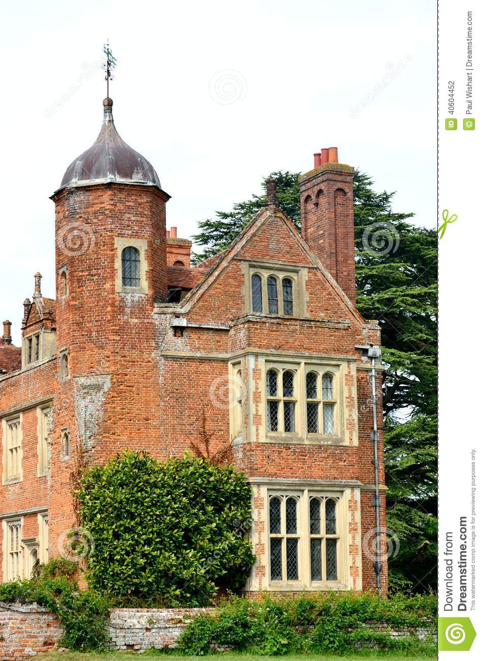 Red Brick Tudor Building Stock Photo Image Of Manor 40604452
