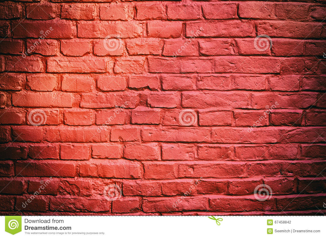Red Brick Wall Background Stock Photo Image Of Construction 67458842