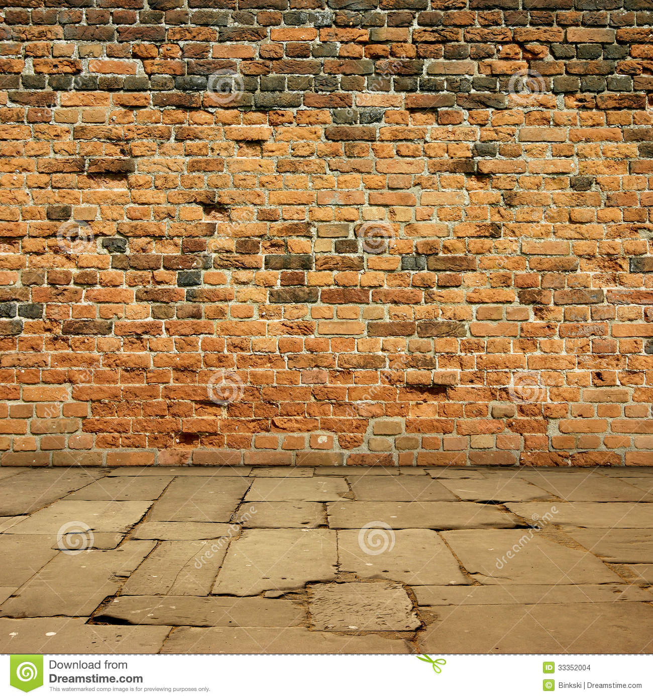 Red Brick Wall Stock Photo Image Of Backdrop Sidewalk