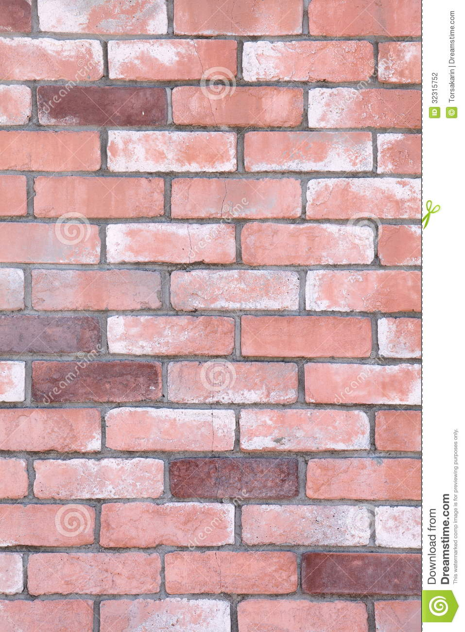 Decorative Brick Wall Design : Red brick wall stock photography image