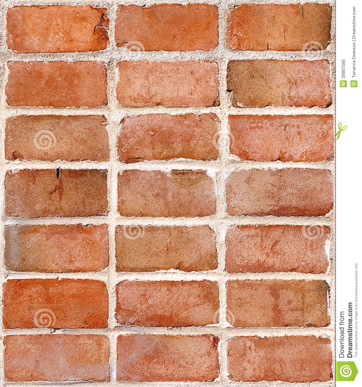 Red Brick Wall Repeating Tile Stock Photo Image 39907595