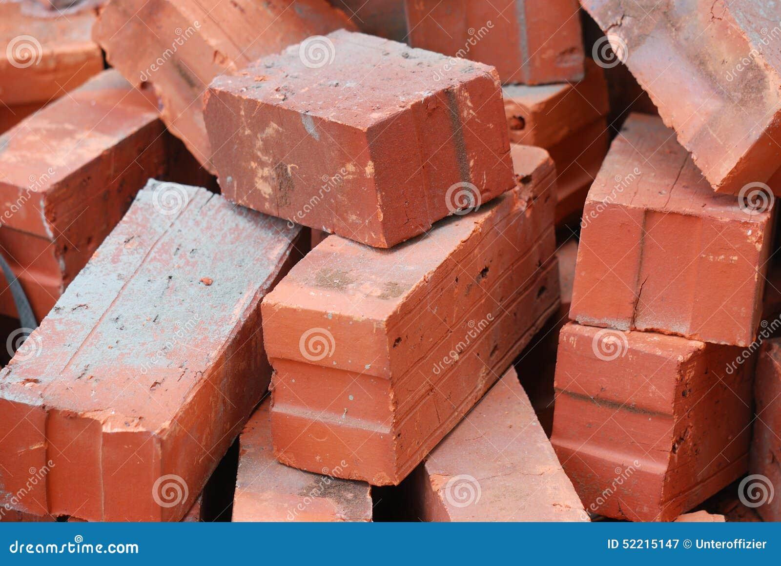 Download Red Bricks stock image. Image of house, fragile, brick - 52215147