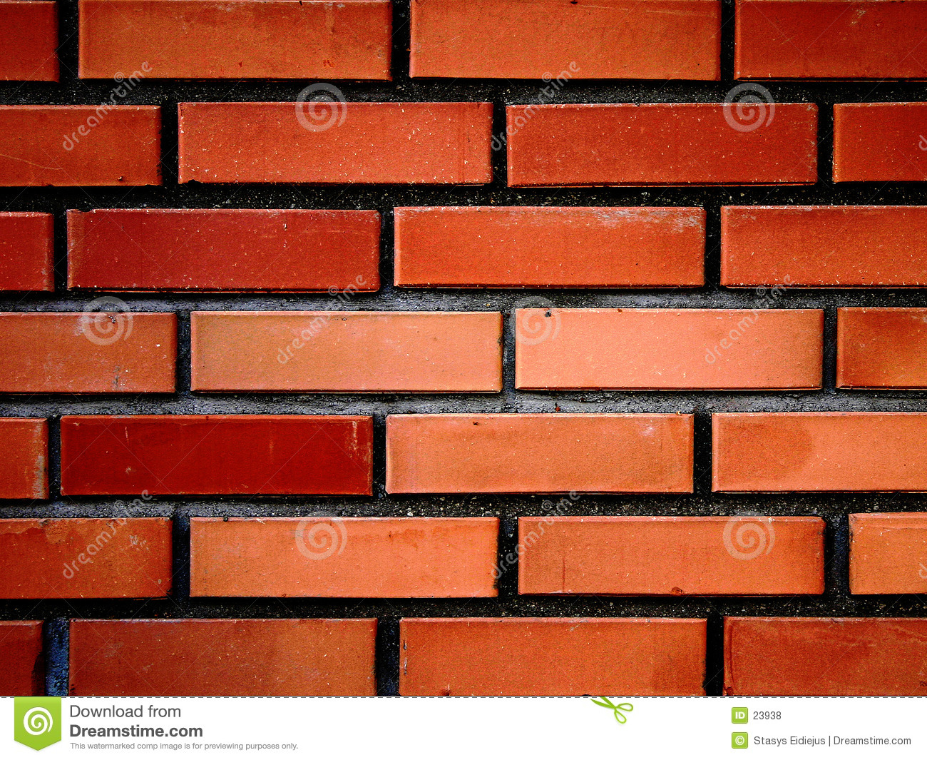 Red bricks wall III