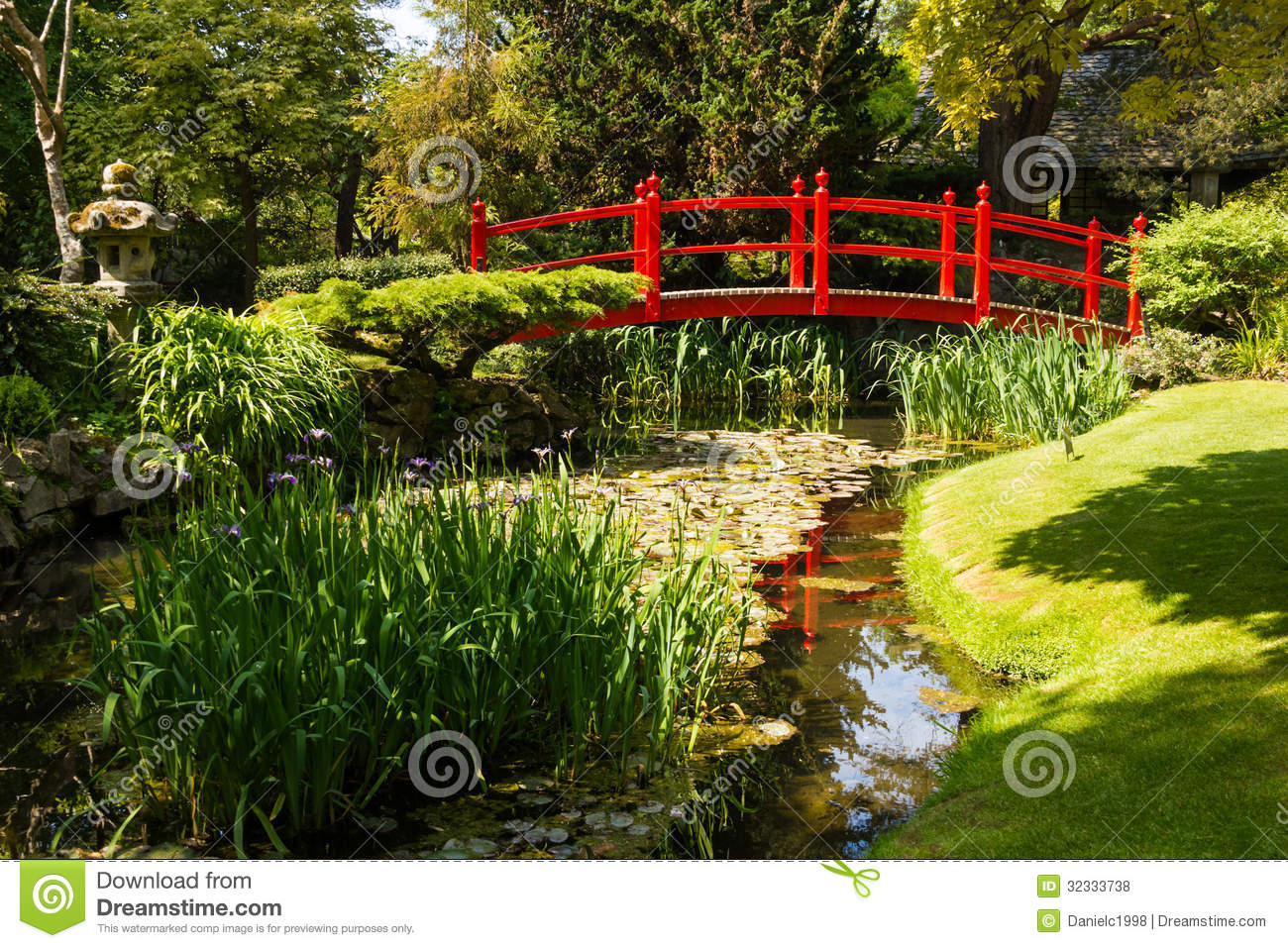 Red bridge irish national stud 39 s japanese gardens - Jardines japoneses fotos ...