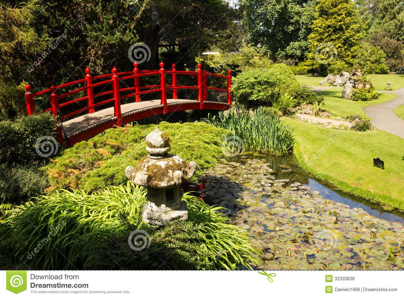 Irish National Stud: Red Bridge. Irish National Stud's Japanese Gardens