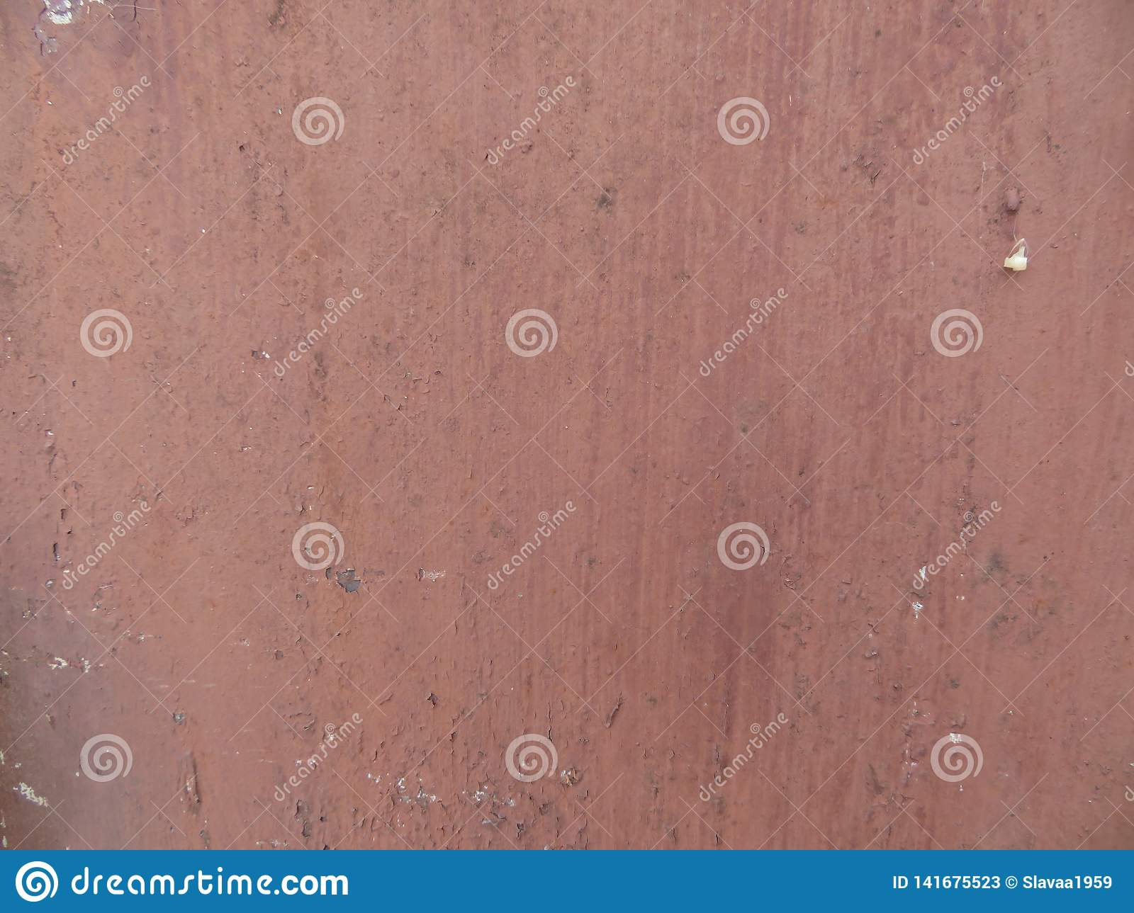 Red Brown Background Color Metal Sheet Texture Stock Image