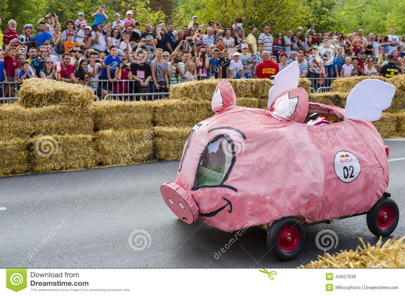 Red Bull Soap Box Derby >> Red Bull Soapbox Bucharest 2014 Editorial Stock Photo - Image: 44557638