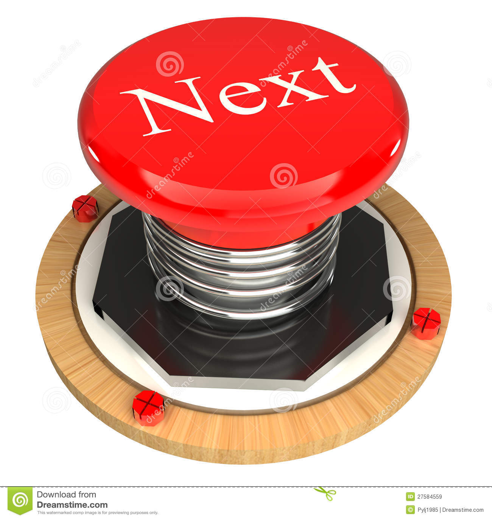 Red Next Button