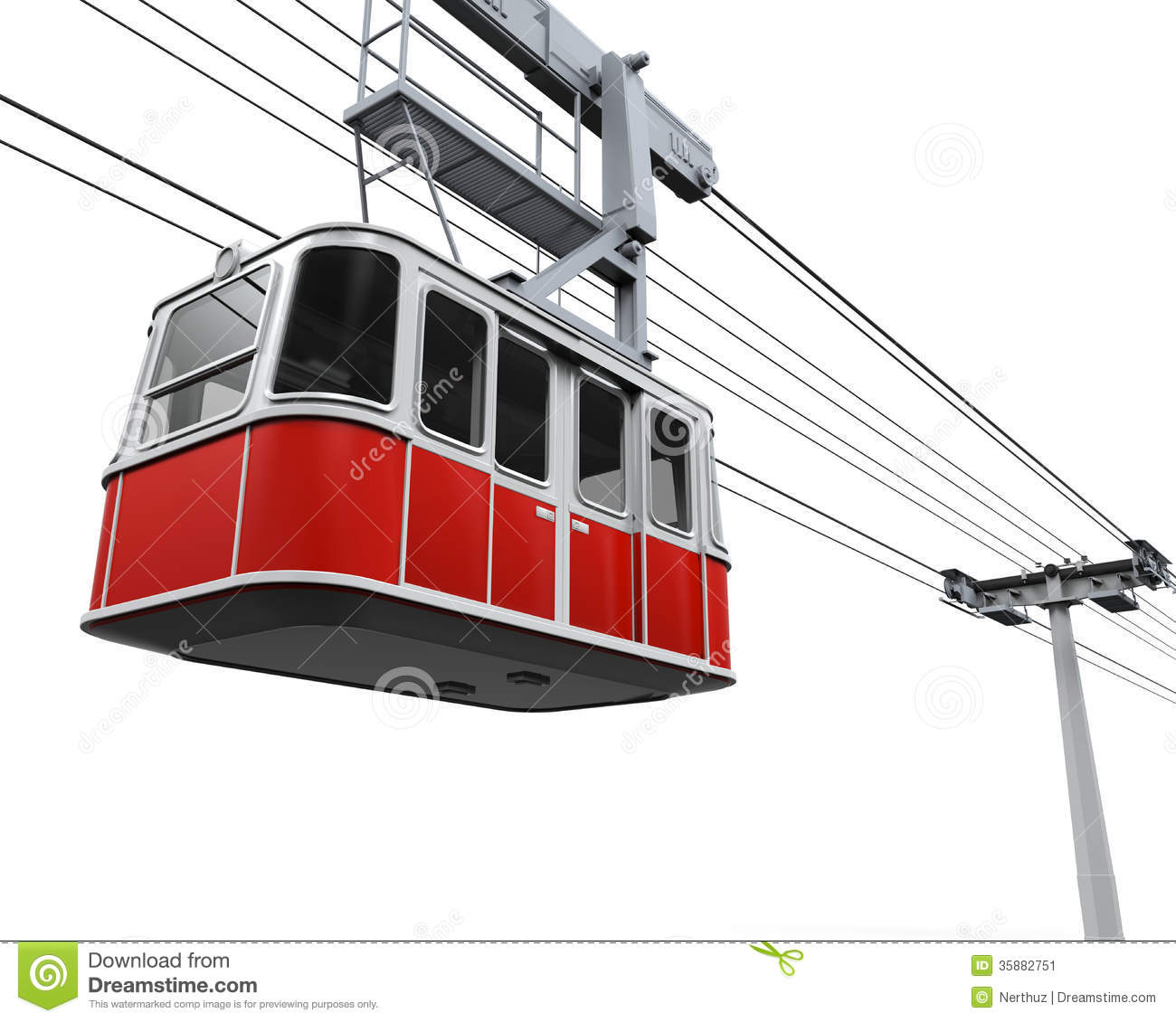 Cable Car Clipart