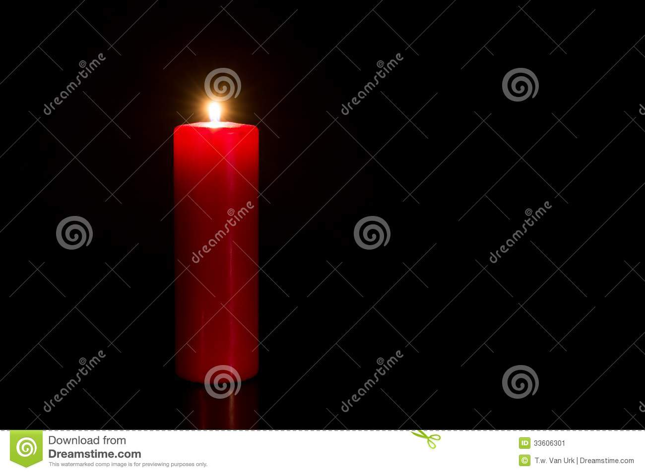 red candle black background - photo #42