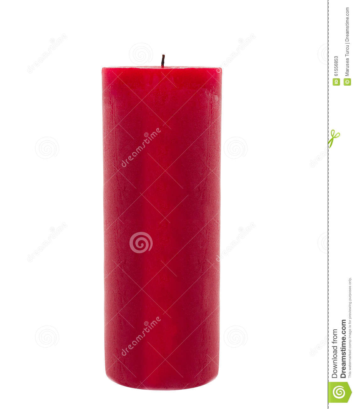 red candle white background - photo #39