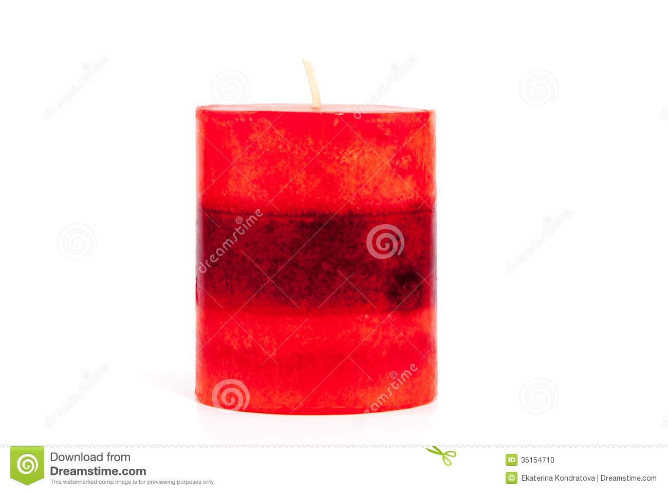 red candle white background - photo #22
