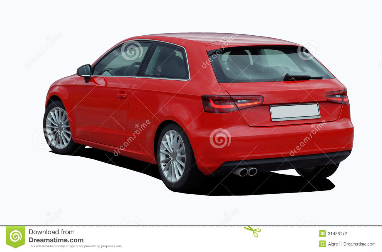 Red Car Stock Photography - Image: 31436172