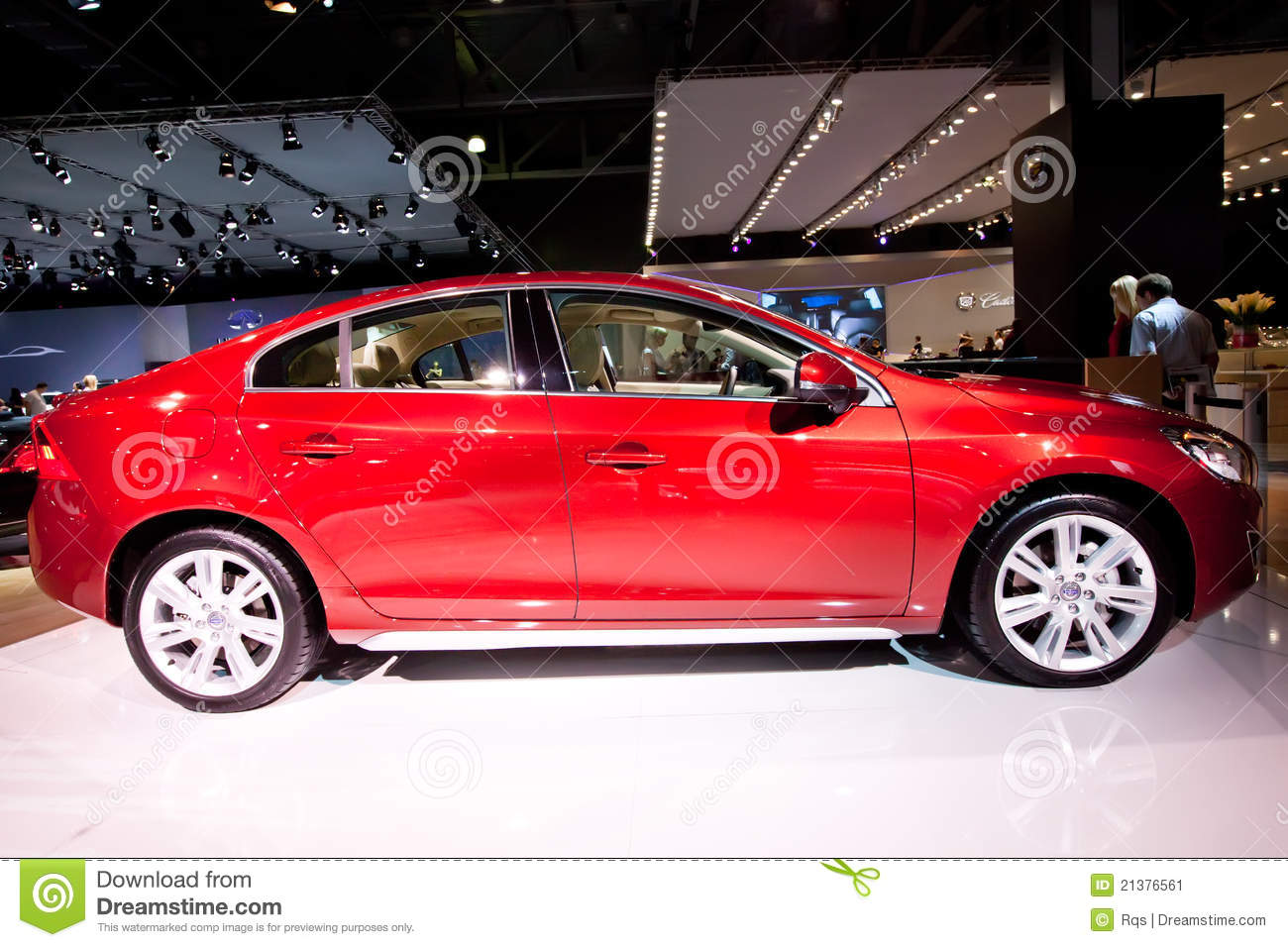 red car volvo c60 editorial photo image 21376561. Black Bedroom Furniture Sets. Home Design Ideas
