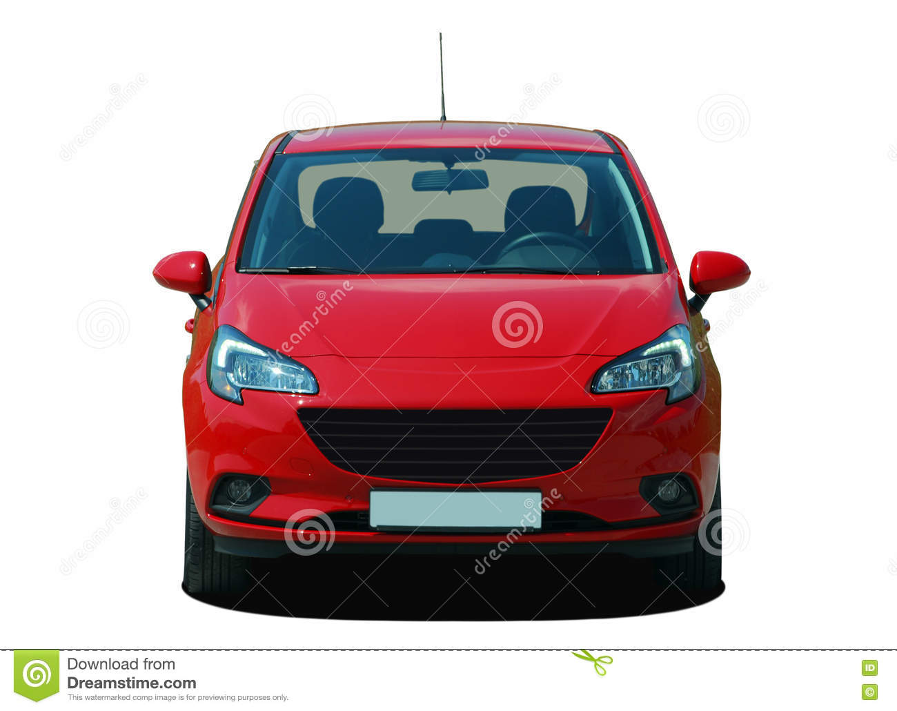Red Car Stock Photo - Image: 80851126