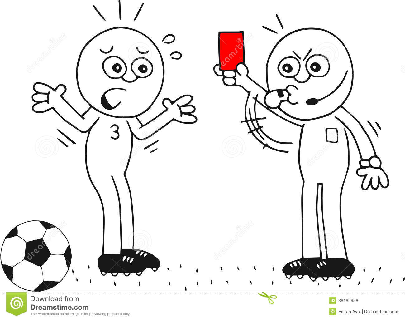 how to get a red card in soccer