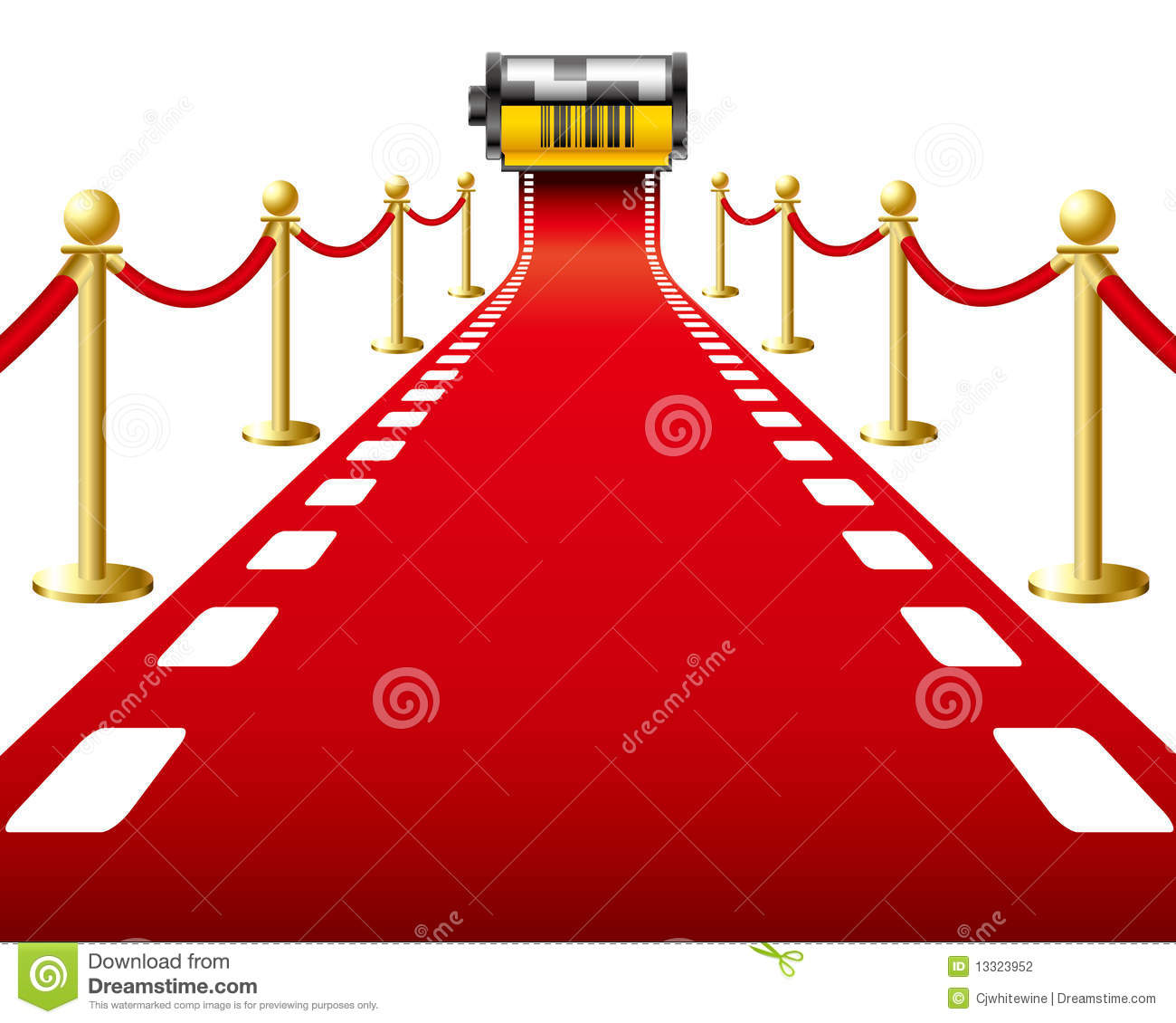 Red Carpet Film Stock Photography  Image 13323952