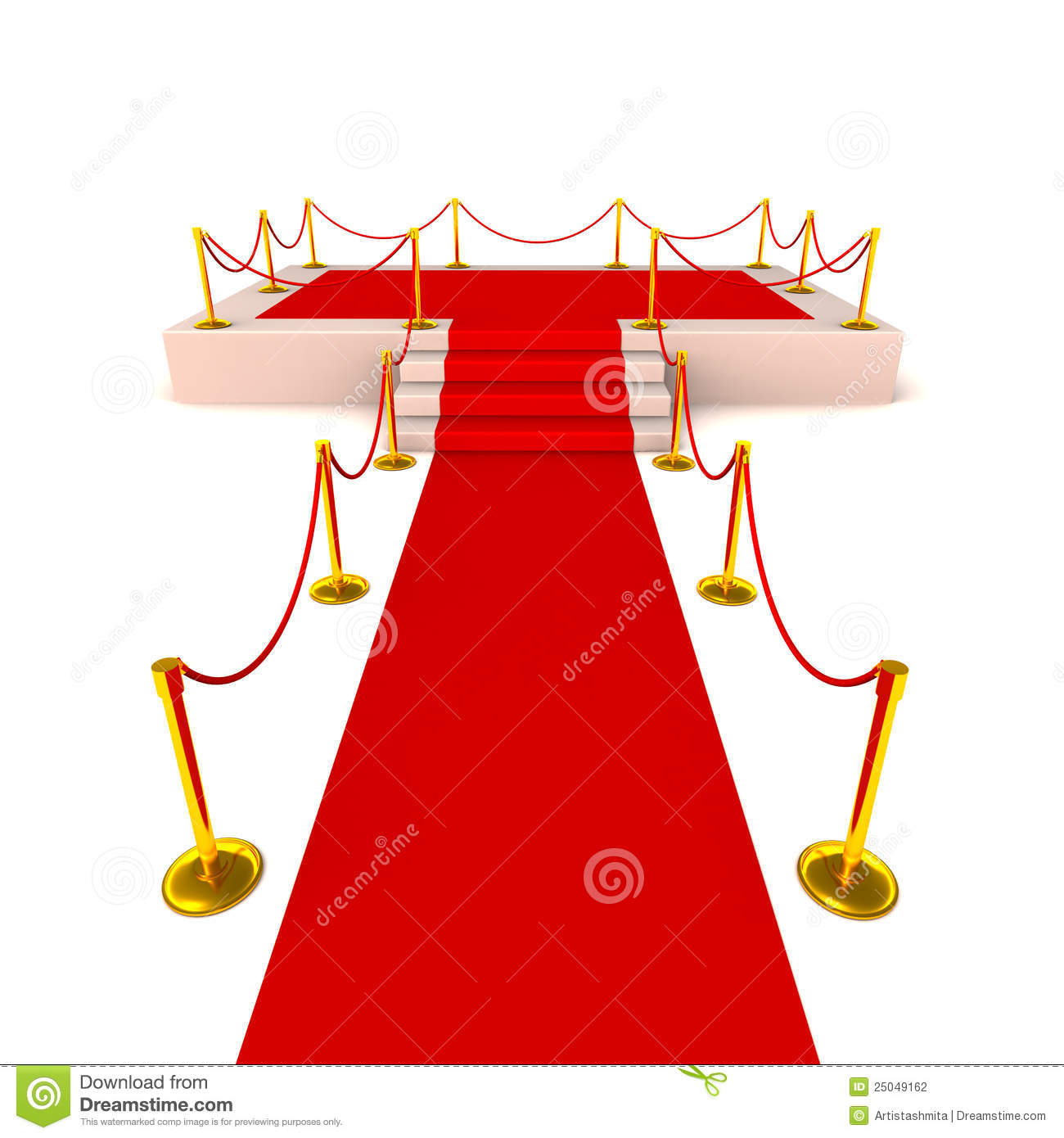 Red velvet curtains stage - Red Carpet Welcome Showing A Red Carpet Leading To A Stage With