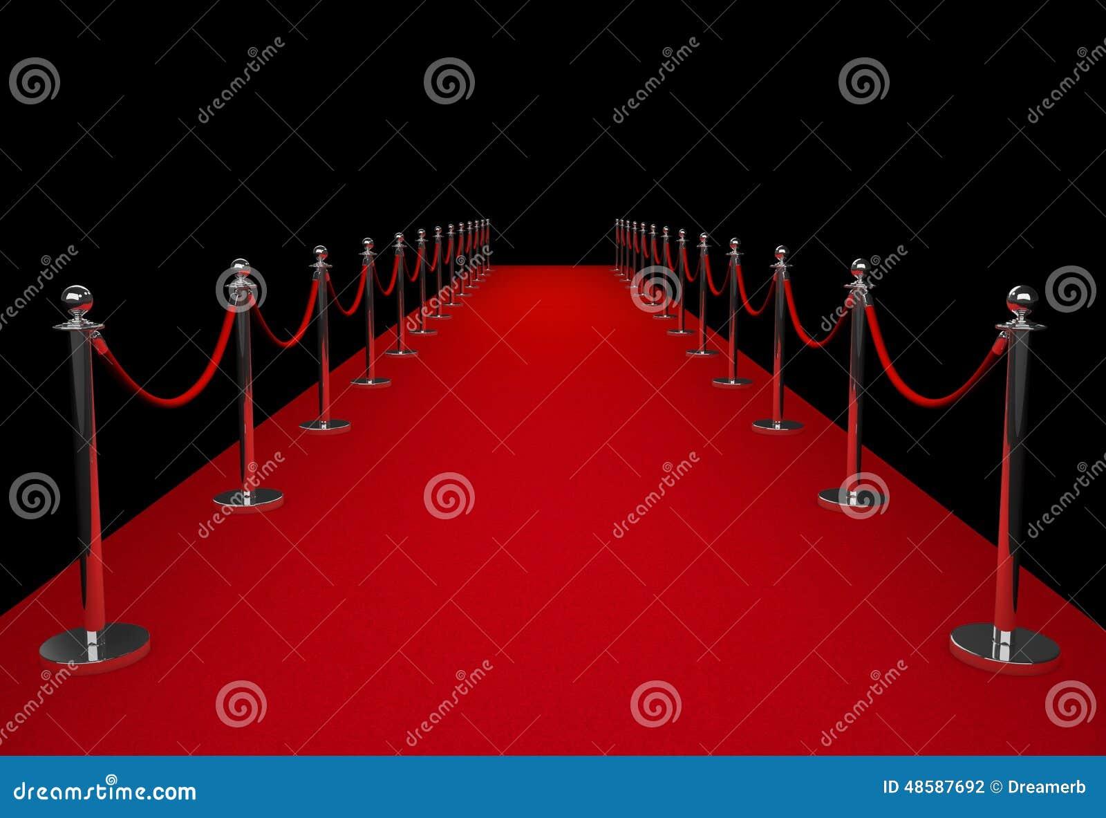 Red Carpet Stock Illustration Image 48587692