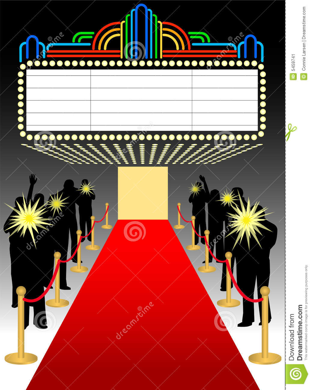 red carpet premier marquee  eps stock illustration image marquee clipart black and white clipart marquee sign