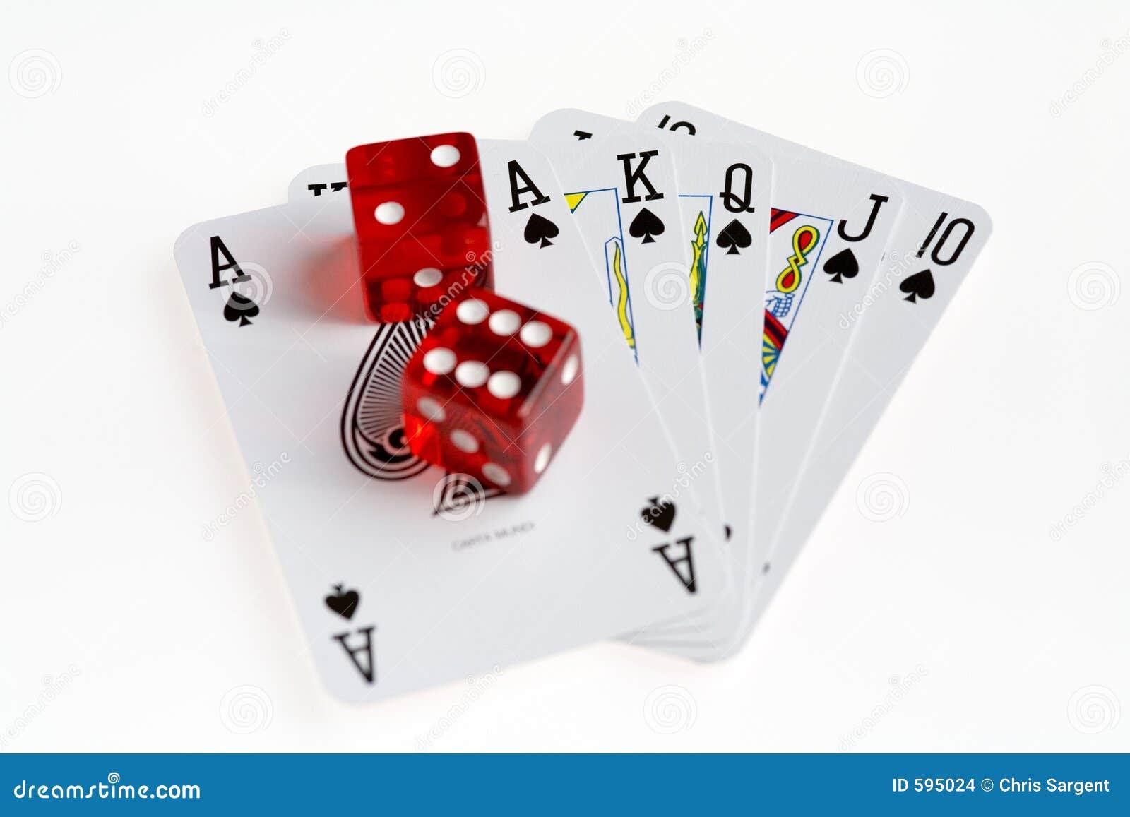 poker dice hands