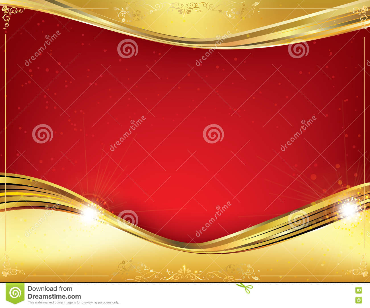 Red Celebration Background For Any Occasion Stock Illustration ...