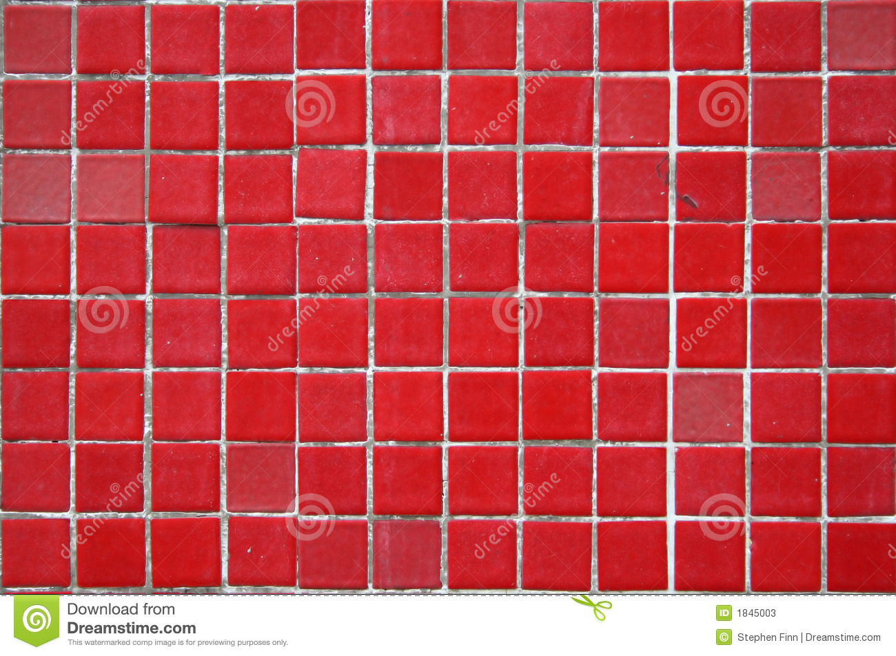 Red Ceramic Tile Background Stock Photos