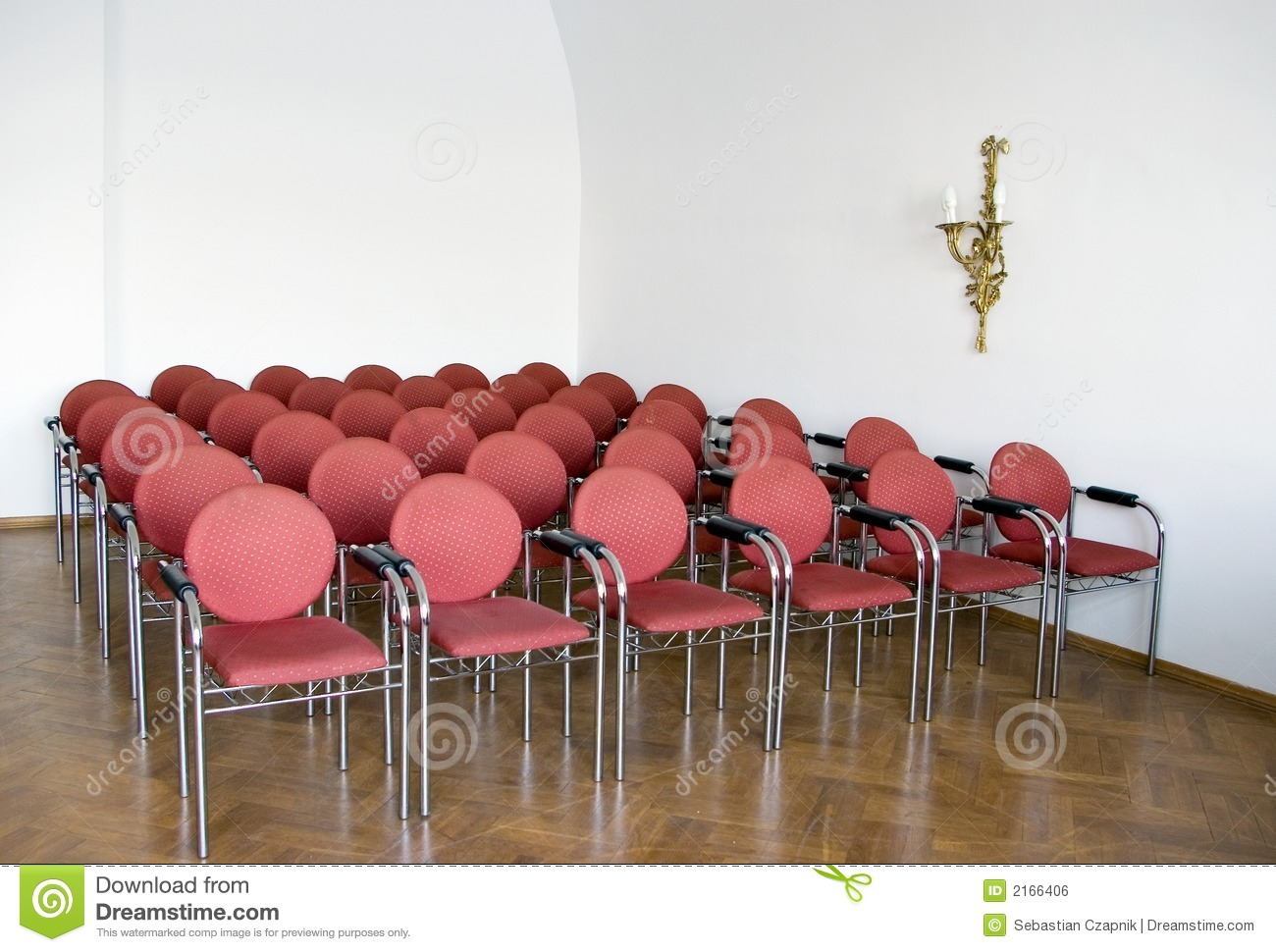royaltyfree stock photo download red chairs in meeting room