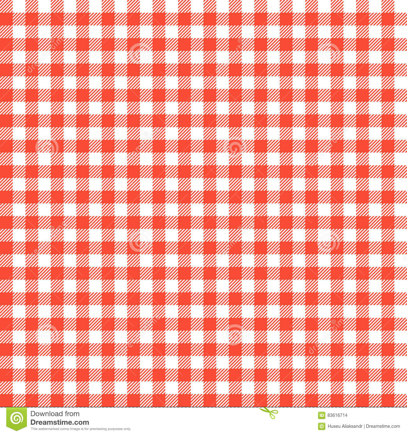red checkered tablecloths patterns stock vector illustration of