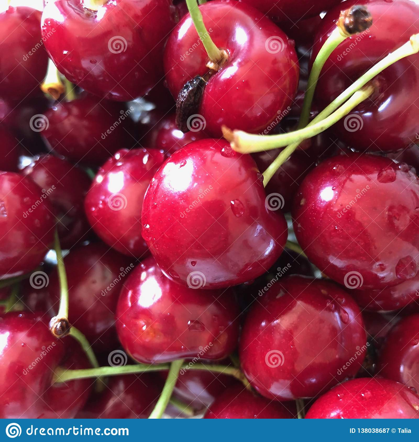 Red Cherries and tasty ...