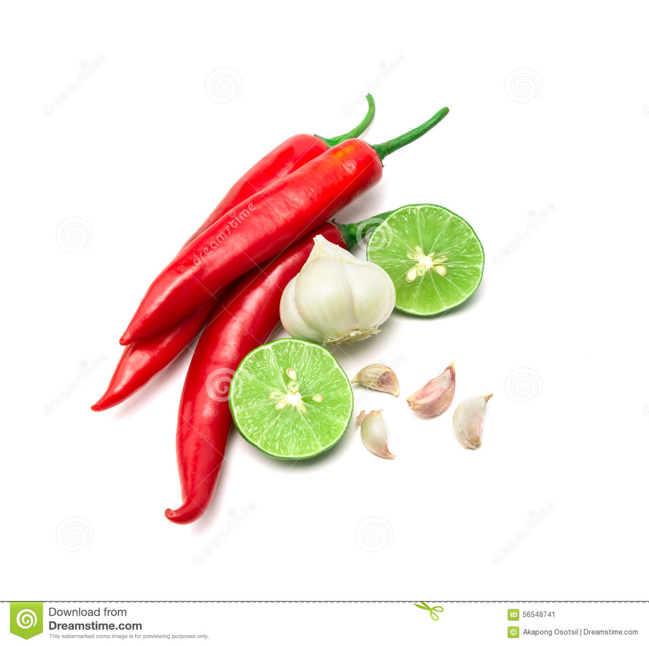 red chili garlic and lime lemon arrange on white background stock image image of cooking. Black Bedroom Furniture Sets. Home Design Ideas