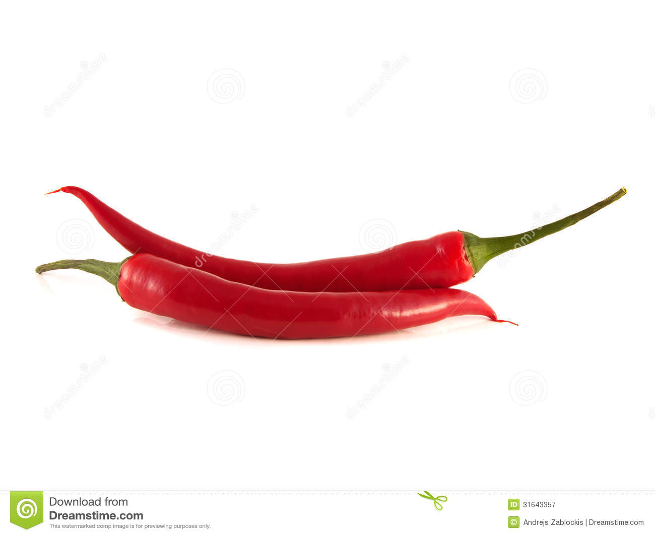 red chili hot peppers on white background royalty free stock photography image 31643357. Black Bedroom Furniture Sets. Home Design Ideas