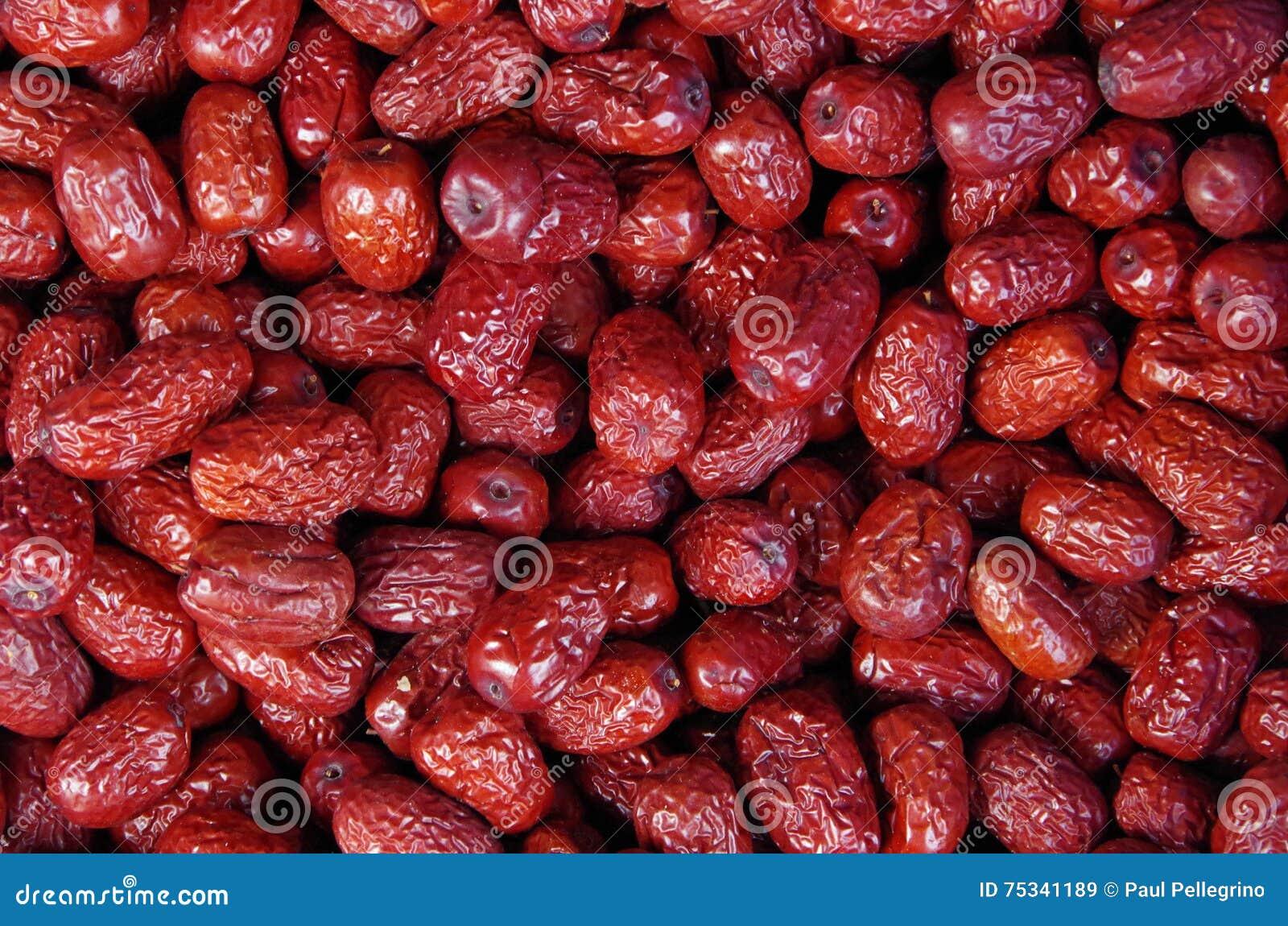 red chinese dates juube stock photo  image, Beautiful flower
