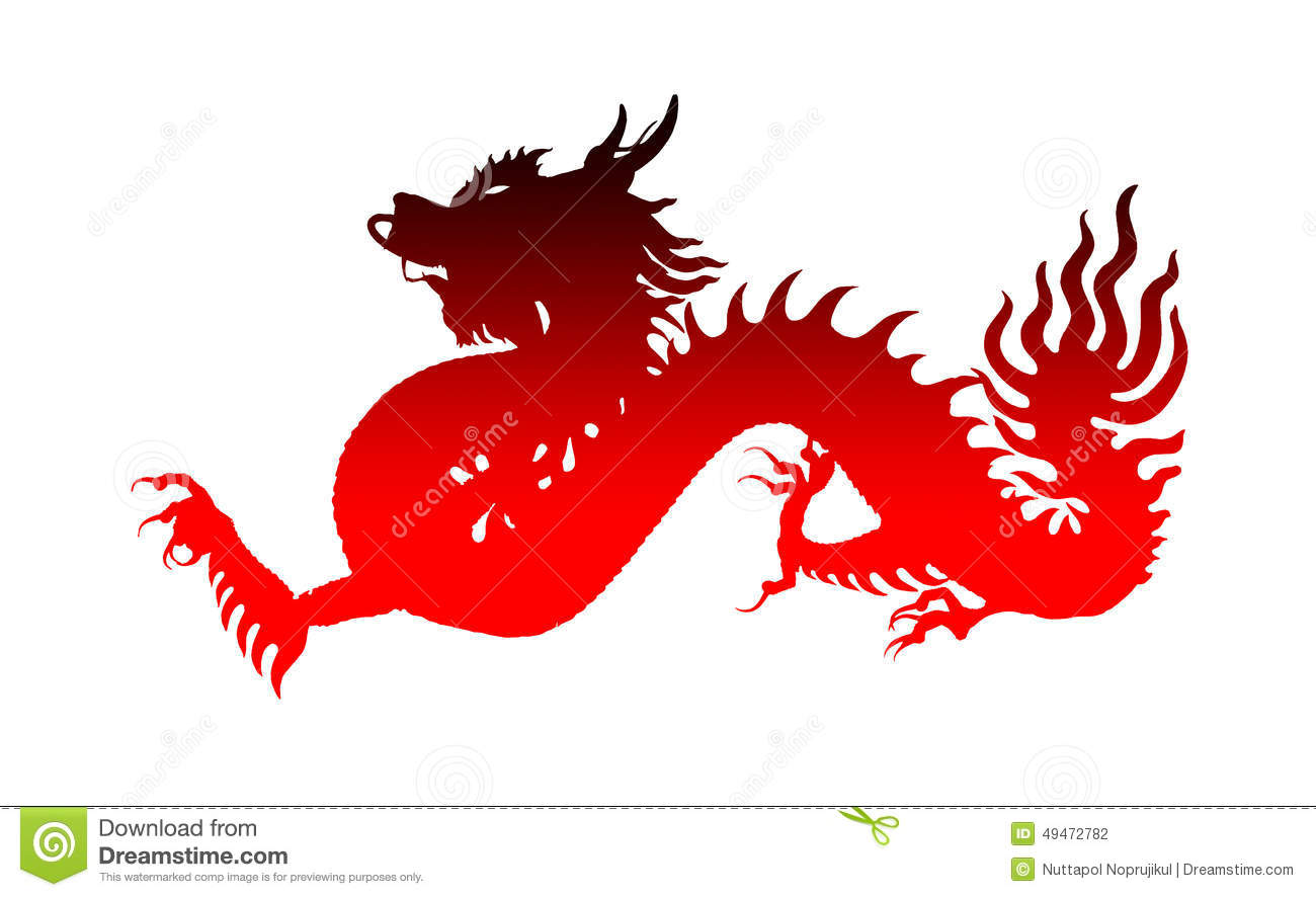 Red chinese dragon symbol of the year stock illustration red chinese dragon symbol of the year biocorpaavc